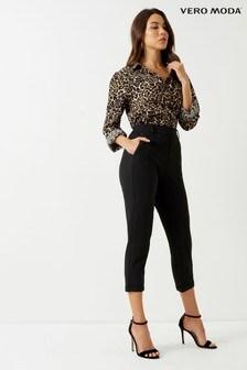 Vero Moda Petite Loose Solid Trousers