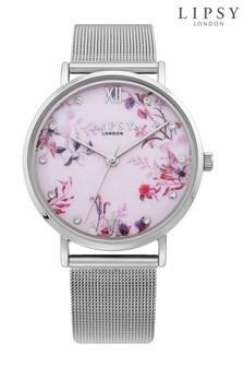 Lipsy Floral Mesh Strap Watch