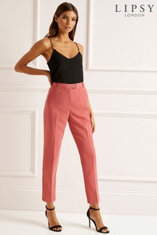 Lipsy Tailored Belted Skinny Trouser
