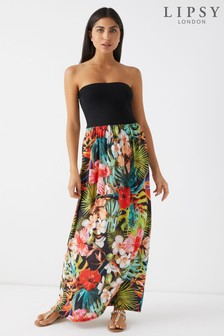 Lipsy Floral 2 in 1 Maxi Dress