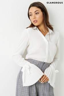 Glamorous Studio Flute Sleeve Shirt