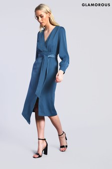 Glamorous Studio Wrap Midi Dress