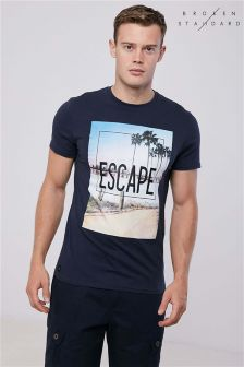 Broken Standard Escape Chest Print Tee