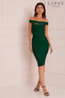 Lipsy Bardot Bandage Dress