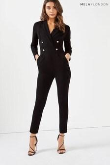 Mela London Tuxedo Jumpsuit
