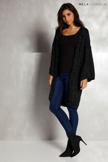 Mela London Chunky Knit Cardigan