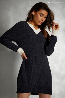 Mela London Cricket Jumper Dress