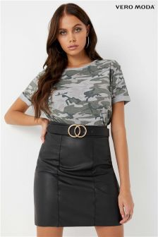 Vero Moda Petite Stretch Mini Skirt