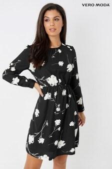 Vero Moda Petite Long Sleeve Dress
