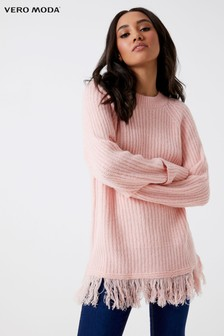 Vero Moda Petite Long Sleeve O-neck Jumper