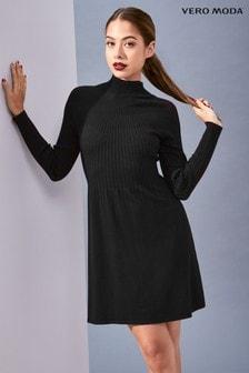 Vero Moda Petite Walk Long Sleeve Dress.