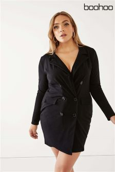 Boohoo Plus Blazer Dress