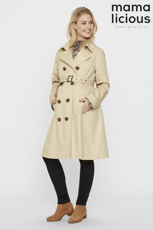 Mamalicious Maternity Trench Coat