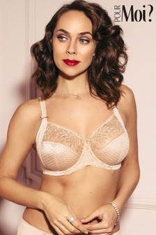 Pour Moi Hepburn Embroidered Side Support Bra