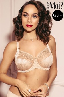 Pour Moi Hepburn Embroidered Side Support Bra GG+