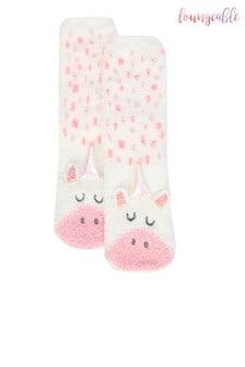 Loungeables Unicorn Socks Gift Box