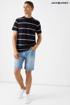Jack & Jones Mid Wash Denim Shorts