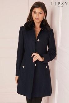 Lipsy Fashion Essential Fit Flared Coat