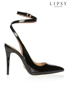 Lipsy Patent Ankle Strap Courts