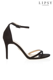 Lipsy Asymmetric Barely There Heeled Sandals