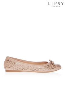 Lipsy Laser Cut Ballerina Shoes