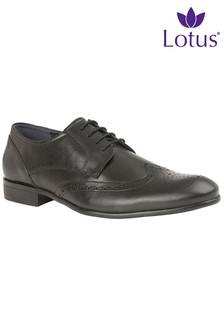 Lotus Mens Leather Brogues