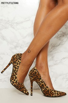 PrettyLittleThing Leopard Print Courts