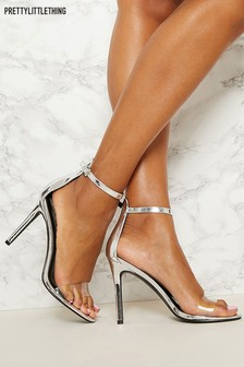 PrettyLittleThing Barely There Heels