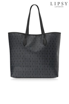 Torba tote shopper Lipsy Monogram