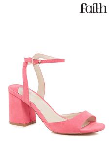 Faith Block Heel Sandals