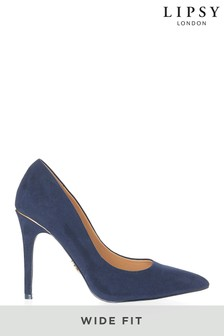 Lipsy Wide Fit High Heel Courts