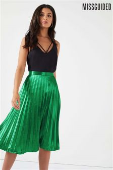 Missguided Pleated Skirt
