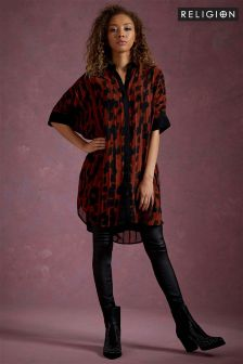 Religion Elation Shirt Dress