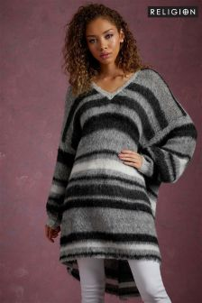Religion Stripe Jumper