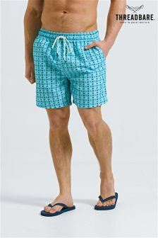 Threadbare Printed Swim Shorts