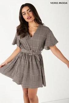 Vero Moda Petite Short Sleeve Mini Dress