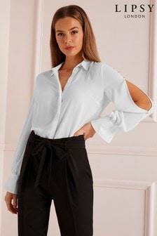 Lipsy Sleeve Stud Detail Shirt