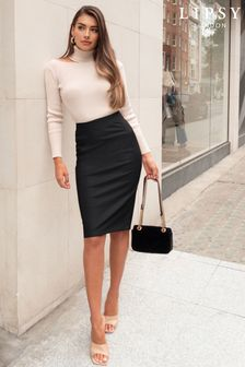 c4dbeeb5cf Lipsy Faux Leather Pencil Skirt