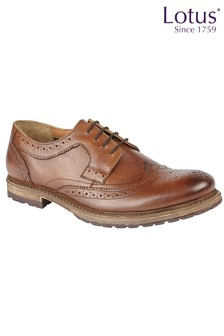 Lotus Leather Brogue