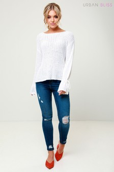 Urban Bliss Ripped Skinny Jeans