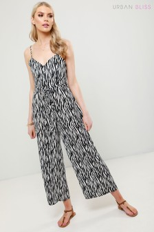 Urban Bliss Cami Zebra Jumpsuit