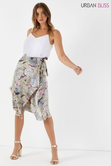 Urban Bliss Paisley Apron Skirt