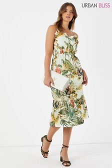 Urban Bliss Printed Tier Dress