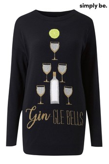 Simply Be Gin Novelty Tunic