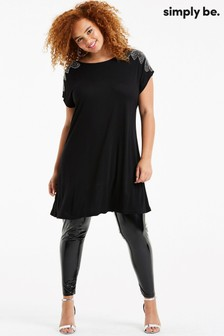 Simply Be Embellished Shoulder Tunic