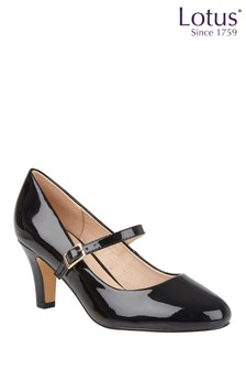 Lotus Patent Court Shoes