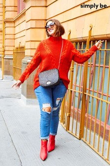 Simply Be Cable Knit Jumper