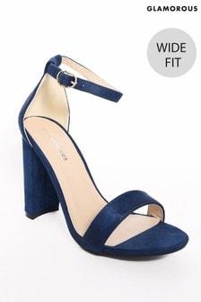 Glamorous Wide Fit Block Heels