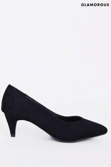 Glamorous Mid-Heel Court Shoe