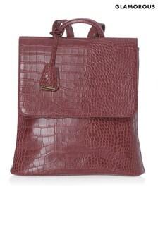 Glamorous Croc Backpack